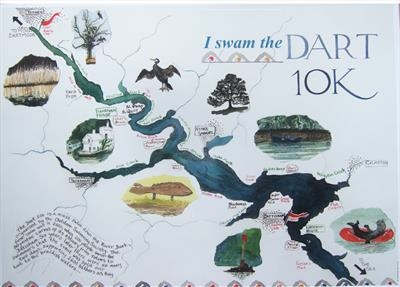 River Dart map