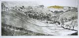 January, South Devon by Susan Deakin, Artist Print, Drypoint