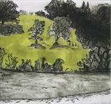 Mud at Ashprington Point by Susan Deakin, Artist Print, Drypoint