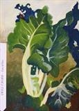 Swiss chard by Susan Deakin, Drawing, Pastel on Paper