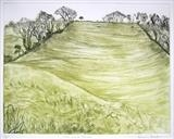The Long Steep by Susan Deakin, Artist Print, Drypoint