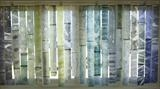 Water Curtain, close up by Susan Deakin, Artist Print, monotype