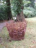 making leaf mould by Susan Deakin, Installation